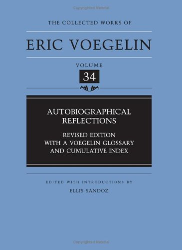 Autobiographical Reflections  2nd 2006 (Revised) edition cover