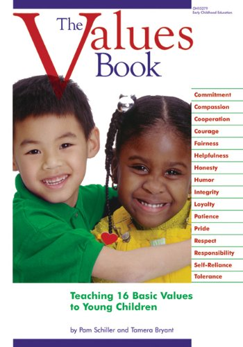 Values Book Teaching 16 Basic Values to Young Children  1999 edition cover