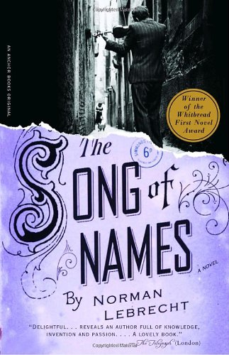 Song of Names   2004 9781400034895 Front Cover