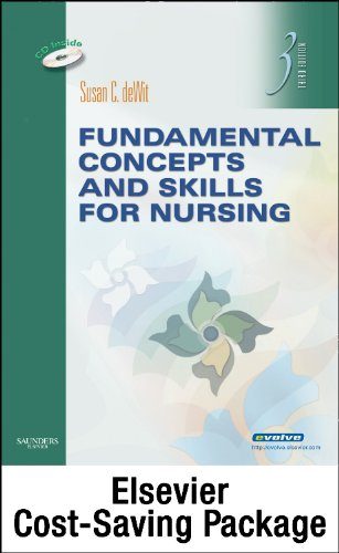 Fundamental Concepts and Skills for Nursing - Text and Virtual Clinical Excursions 3. 0 Package  4th edition cover