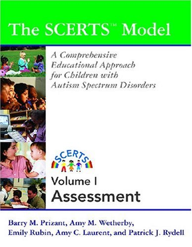 Scerts Manual A Comprehensive Educational Approach for Young Children with Autism Spectrum Disorders  2006 edition cover