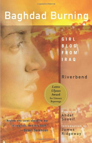 Baghdad Burning Girl Blog from Iraq  2005 edition cover