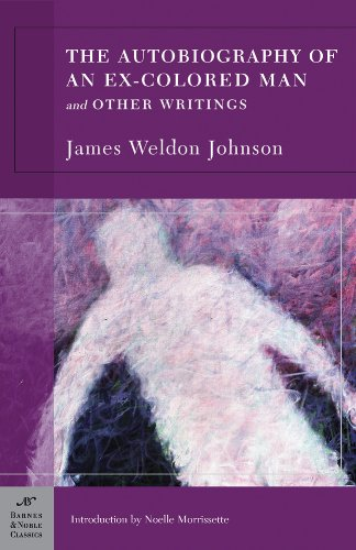 Autobiography of an Ex-Colored Man And Other Writings  2007 edition cover