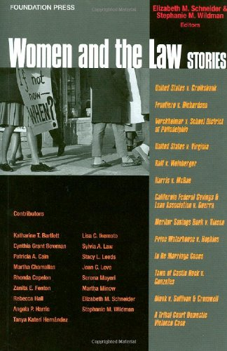 Women and the Law Stories   2011 edition cover