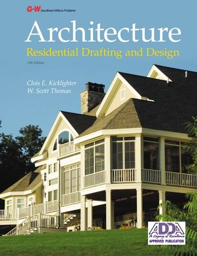 Architecture: Residential Drafting and Design  2013 edition cover