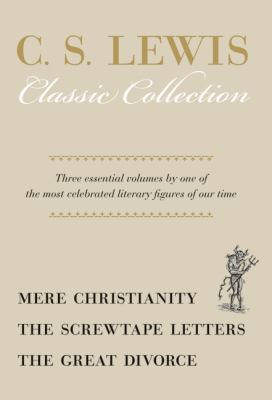 Mere Christianity; The Screwtape Letters; The Great Divorce  N/A edition cover