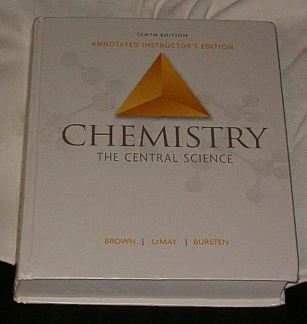 Chemistry: the Central Science  10th 2006 (Annotated) edition cover