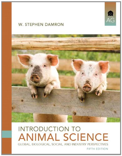 Introduction to Animal Science  5th 2013 (Revised) edition cover