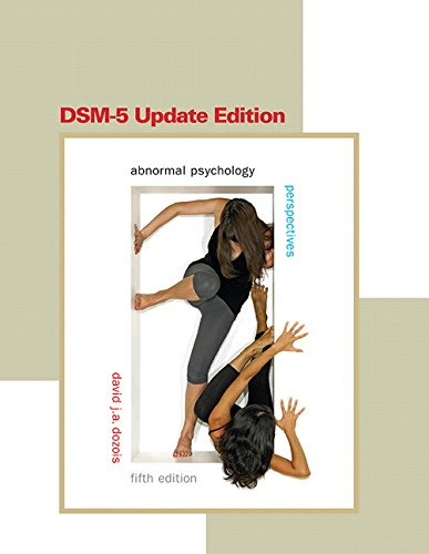 Abnormal Psychology Perspectives 5th 2015 (Revised) 9780133499896 Front Cover