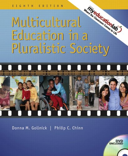 Multicultural Education in a Pluralistic Society + Exploring Diversity: A Video Case Approach  2008 edition cover