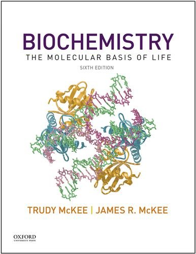 Biochemistry: The Molecular Basis of Life 6th 2015 edition cover