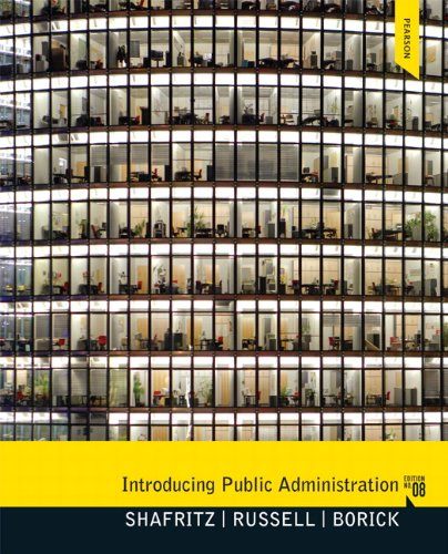 Introducing Public Administration  8th 2012 (Revised) 9780205855896 Front Cover