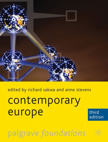 Contemporary Europe  3rd 2012 (Revised) edition cover
