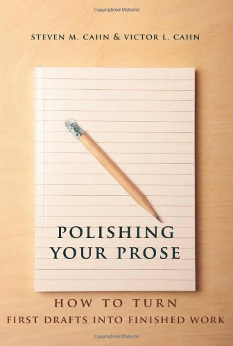 Polishing Your Prose How to Turn First Drafts into Finished Work  2013 edition cover
