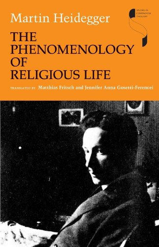 Phenomenology of Religious Life   2010 edition cover