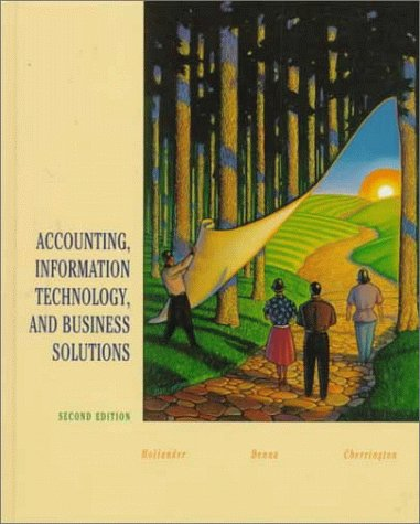 Accounting, Information Technology, and Business Solutions 2nd 2000 (Revised) edition cover