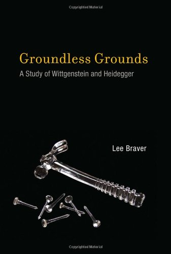 Groundless Grounds A Study of Wittgenstein and Heidegger  2012 9780262016896 Front Cover