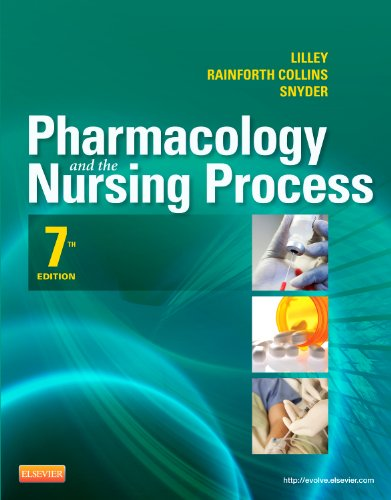 Pharmacology and the Nursing Process  7th 2014 edition cover