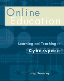 Online Education Learning and Teaching in Cyberspace  2000 9780534506896 Front Cover