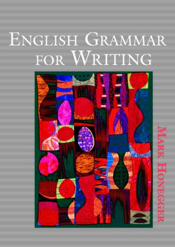 English Grammar for Writing   2005 edition cover