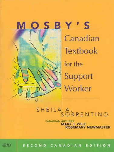 Mosby's Canadian Textbook for the Support Worker  2nd 2008 edition cover