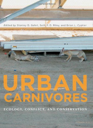 Urban Carnivores Ecology, Conflict, and Conservation  2009 edition cover