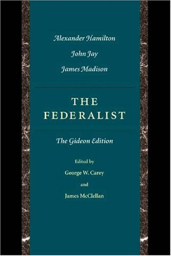 Federalist  2nd 2001 edition cover