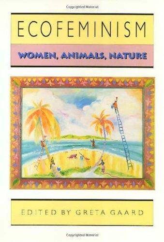Ecofeminism Women, Animals, Nature  1993 edition cover