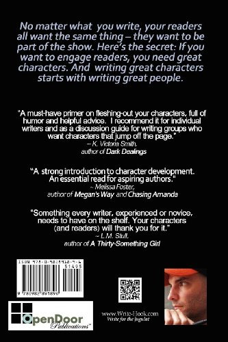 Character Development from the Inside Out N/A 9780982891896 Front Cover