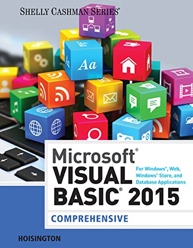 Microsoft Visual Basic for Windows, Web, Office, and Database Applications: Comprehensive   2016 edition cover