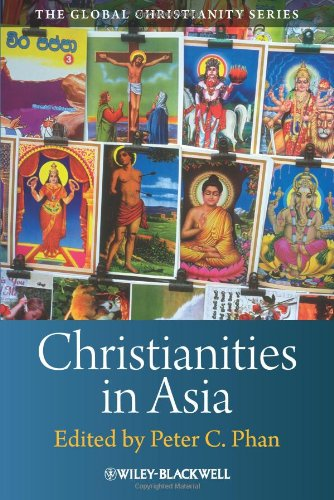 Christianities in Asia   2010 9781405160896 Front Cover