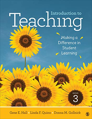 Introduction to Teaching Making a Difference in Student Learning 3rd 2020 9781506393896 Front Cover