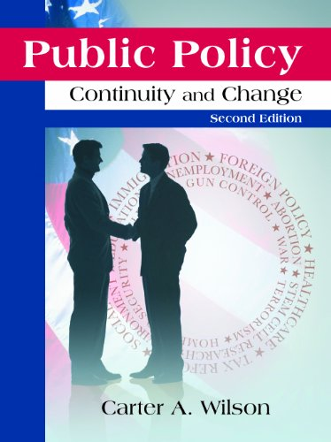 Public Policy Continuity and Change 2nd edition cover