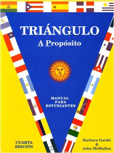 Triangulo Xxxx Manual para Estudiante 4th 2006 edition cover