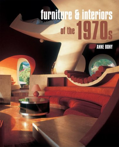 Furniture and Interiors of The 1970s   2006 9782080304896 Front Cover