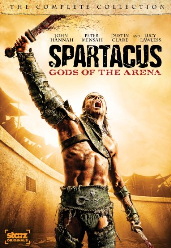 Spartacus: Gods Of The Arena - The Complete Collection [DVD] System.Collections.Generic.List`1[System.String] artwork
