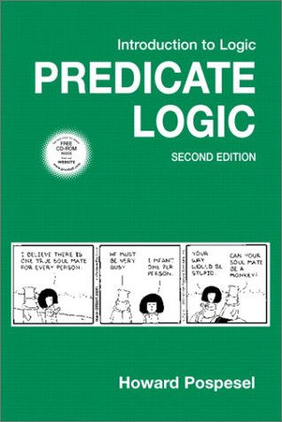 Introduction to Logic Predicate Logic 2nd 2003 (Revised) edition cover