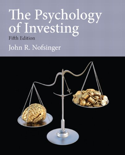 Psychology of Investing:   2013 edition cover
