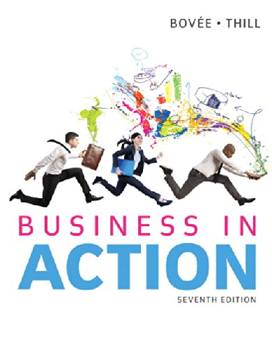 Business in Action:   2014 9780133773897 Front Cover