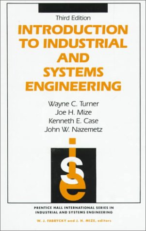 Introduction to Industrial and Systems Engineering  3rd 1993 (Revised) edition cover