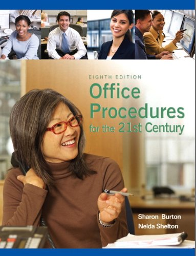Office Procedures for the 21st Century  8th 2011 edition cover