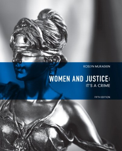 Women and Justice It's a Crime 5th 2012 (Revised) edition cover