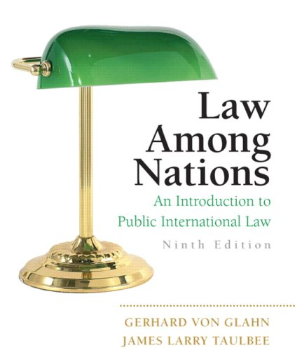 Law among Nations An Introduction to Public International Law 9th 2010 edition cover