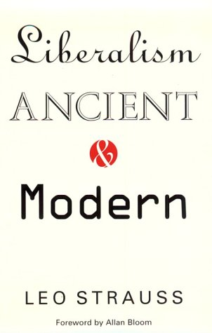 Liberalism Ancient and Modern  N/A edition cover