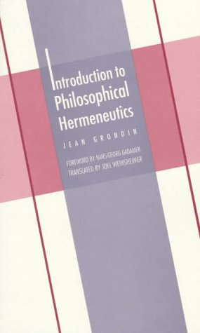 Introduction to Philosophical Hermeneutics   1997 edition cover