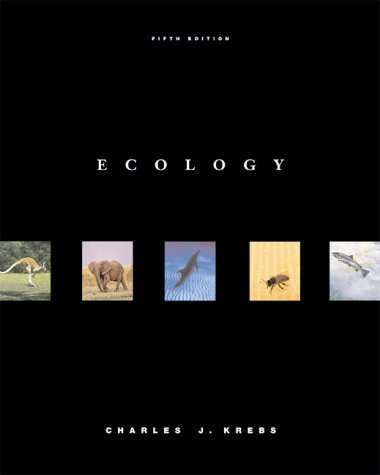 Ecology The Experimental Analysis of Distribution and Abundance, Package 5th 2001 9780321042897 Front Cover