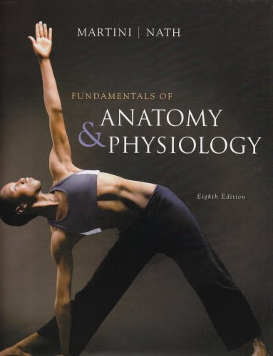 Fundamentals of Anatomy and Physiology  8th 2009 edition cover