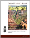 Geosystems An Introduction to Physical Geography, Books a la Carte Edition 9th 2015 edition cover