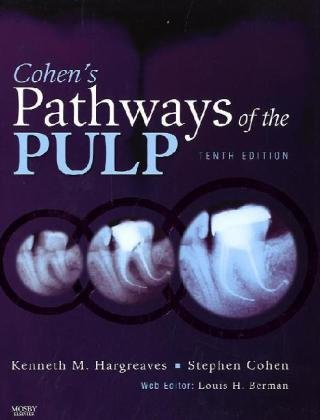 Cohen's Pathways of the Pulp Expert Consult  10th 2010 edition cover