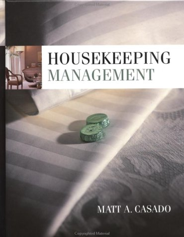 Housekeeping Management   1999 edition cover